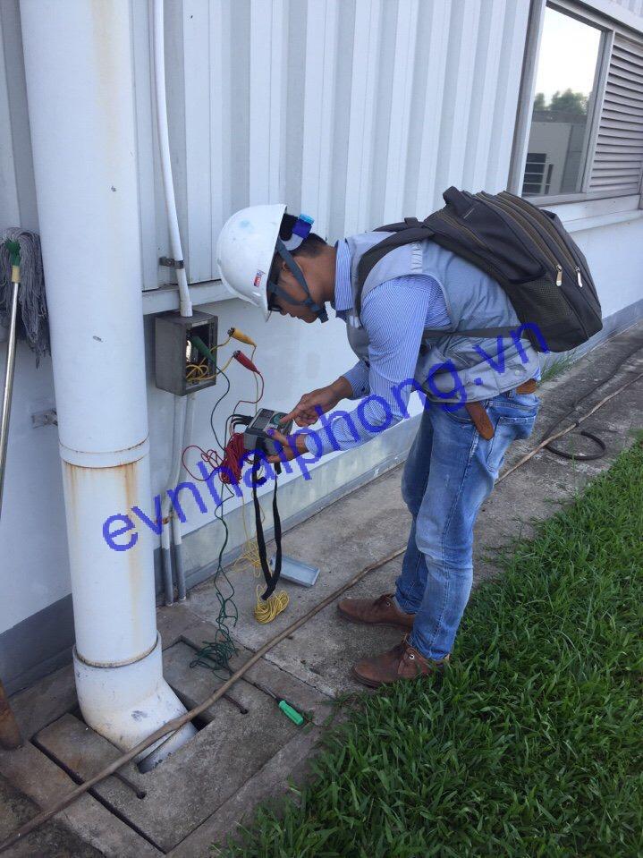 Dịch vụ đo cấp giấy chứng nhận kiểm định hệ thống tiếp địa
