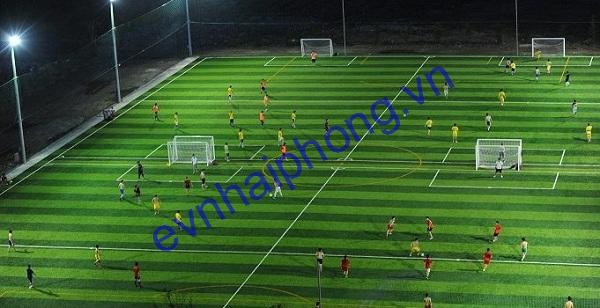Lắp đặt chiếu sáng sân thể thao