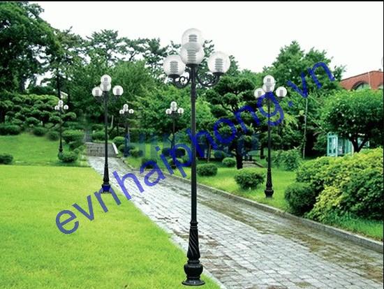 Thi công lắp đặt chiếu sáng sân vườn