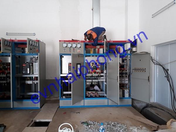Thi công đấu nối lắp đặt tủ điện các loại