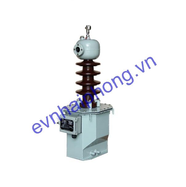 Biến điện áp cấp nguồn ngâm dầu 24kV, 1 sứ -Emic