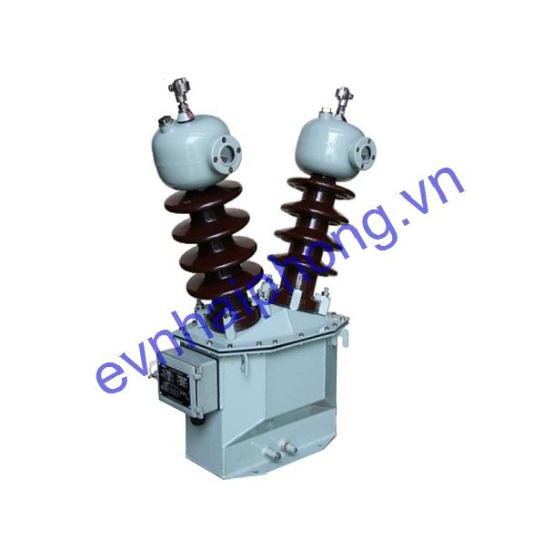 Biến điện áp cấp nguồn ngâm dầu 24kV, 2 sứ -Emic