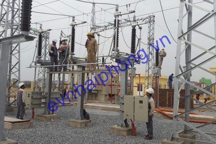 Nhà thầu xây lắp điện