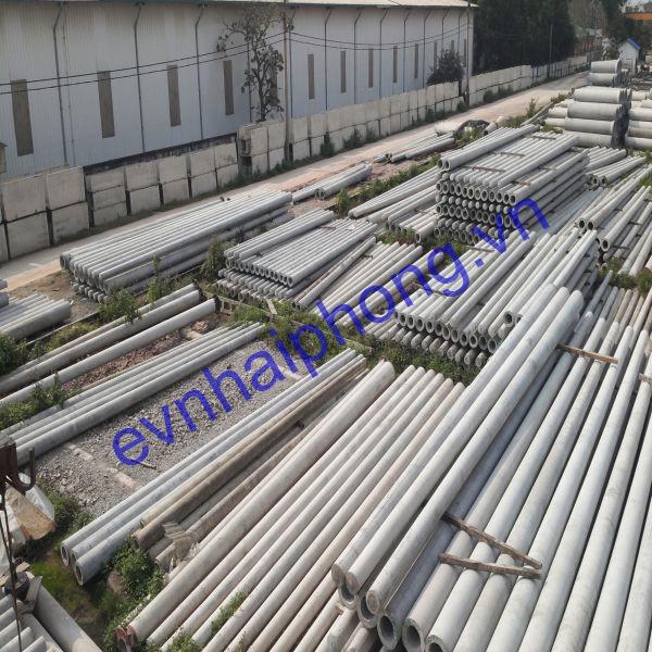 Báo giá cột điện bê tông dự ứng lực Hải Phòng