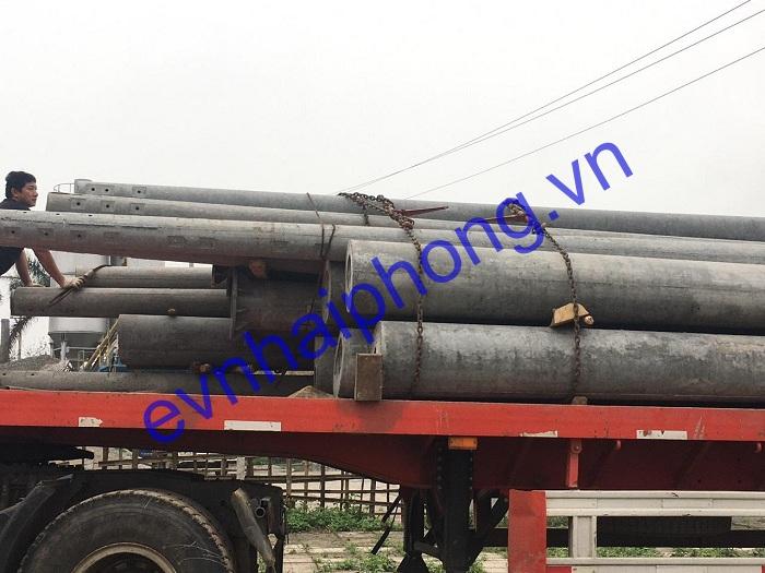 Hình ảnh cung cấp cột điện các dự án của Hải Phong