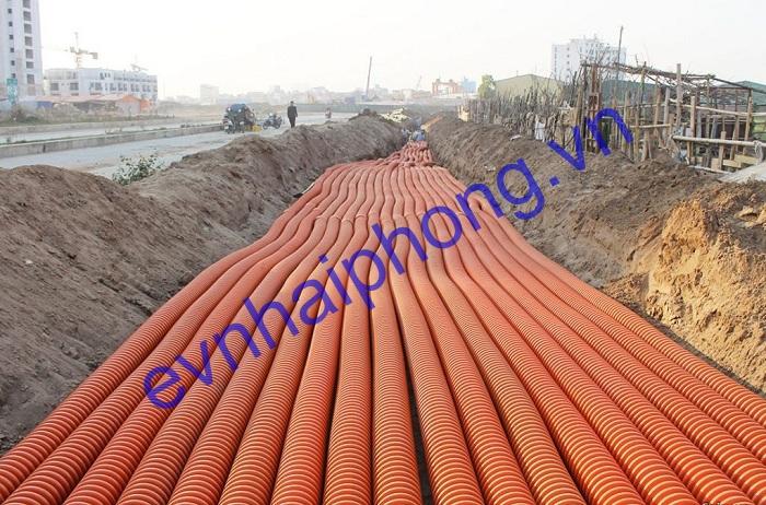 Cung cấp ống nhựa HDPE luồn cáp điện dự án