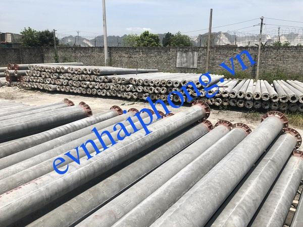 Báo giá cột điện bê tông ly tâm Hải Phòng