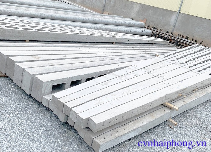 Báo giá cột điện bê tông vuông - cột điện chữ H